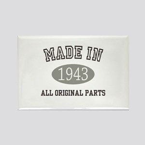 Made In 1943 All Original Parts Magnets