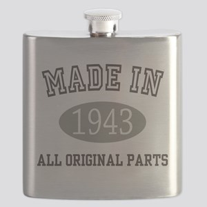 Made In 1943 All Original Parts Flask