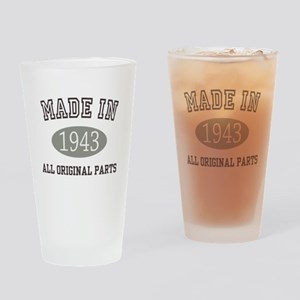 Made In 1943 All Original Parts Drinking Glass