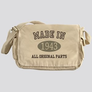 Made In 1943 All Original Parts Messenger Bag