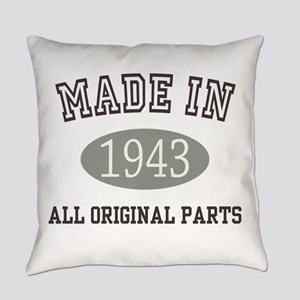Made In 1943 All Original Parts Everyday Pillow