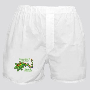 PERSONALIZED Rainbow And Shamrocks Boxer Shorts