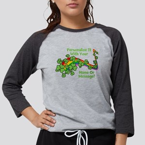 PERSONALIZED Rainbow And Shamrocks Long Sleeve T-S