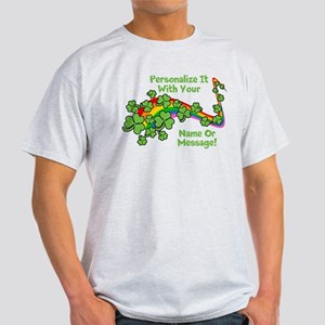 PERSONALIZED Rainbow And Shamrocks T-Shirt