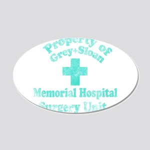 Vintage Property of Grey-Sloan Wall Decal