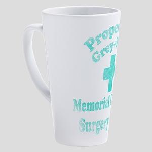 Vintage Property of Grey-Sloan 17 oz Latte Mug
