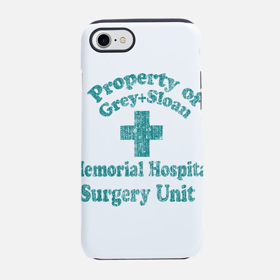 Vintage Property of Grey-Sloan iPhone 8/7 Tough Ca
