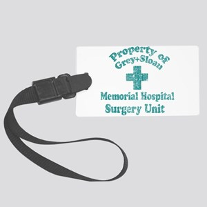 Vintage Property of Grey-Sloan Luggage Tag