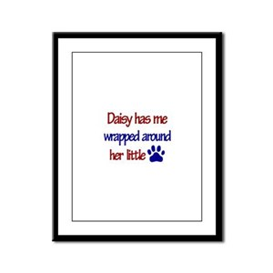Daisy - Has Me Wrapped Around Framed Panel Print