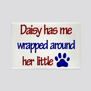 Daisy - Has Me Wrapped Around Rectangle Magnet