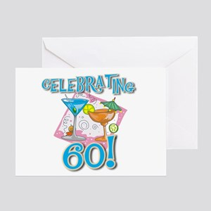 Celebrating 60 Greeting Card