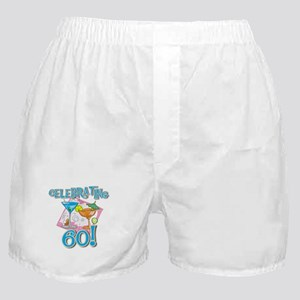Celebrating 60 Boxer Shorts