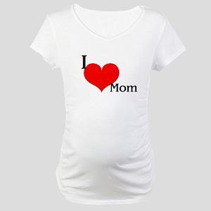 Love Mom Maternity T-Shirt