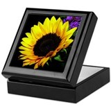 Sunflower Square Keepsake Boxes