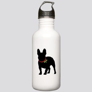 French Bulldog Silhoue Stainless Water Bottle 1.0L
