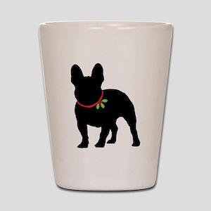 French Bulldog Silhouette Shot Glass