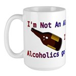 Alcoholic Large Mug