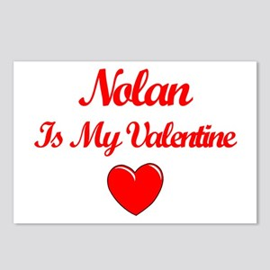 Nolan is my Valentine  Postcards (Package of 8)