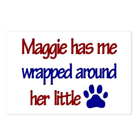 Maggie - Has Me Wrapped Aroun Postcards (Package o