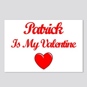 Patrick is my Valentine  Postcards (Package of 8)