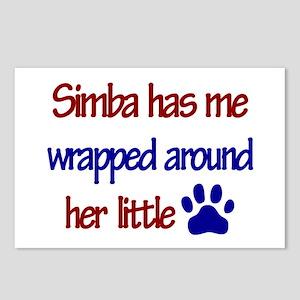 Simba - Has Me Wrapped Around Postcards (Package o
