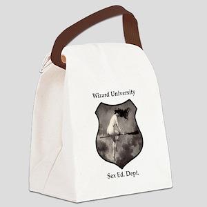 Wizard U Canvas Lunch Bag