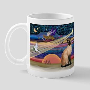 Xmas Star / Siamese Mug