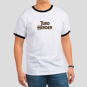 Turd Herder Ringer TShirt