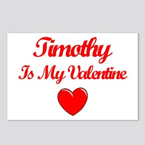 Timothy is my Valentine  Postcards (Package of 8)
