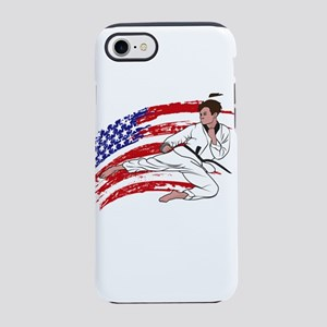 Funny Karate iPhone 8/7 Tough Case