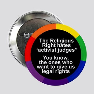 ACTIVIST JUDGES Button