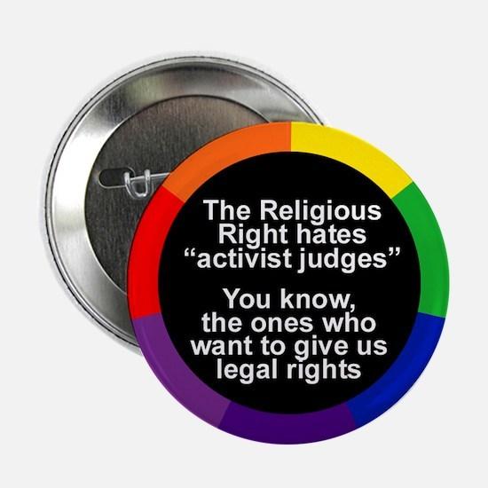 ACTIVIST JUDGES Button
