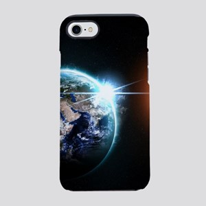 Earth And Asteroid iPhone 8/7 Tough Case