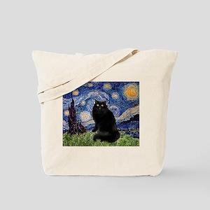 Starry Night /Persian (bl) Tote Bag
