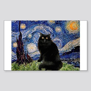 Starry Night /Persian (bl) Rectangle Sticker