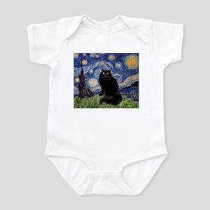 Starry Night /Persian (bl) Infant Bodysuit