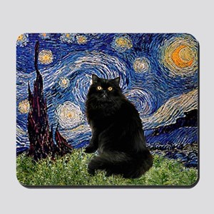 Starry Night /Persian (bl) Mousepad