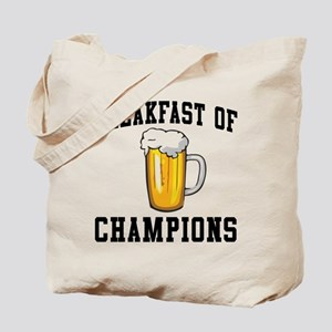 Breakfast of Champions Beer Tote Bag