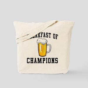 Breakfast of Champions Beer Tote Bag