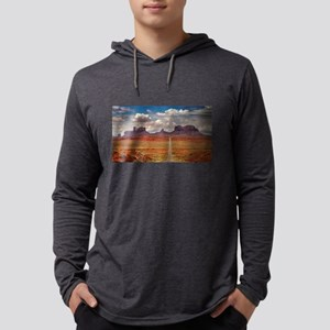 Road Trough Desert Long Sleeve T-Shirt