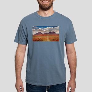 Road Trough Desert T-Shirt