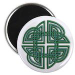 Celtic Four Leaf Clover 2.25