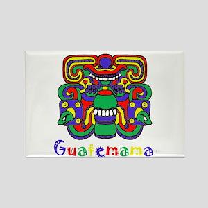 Mayan Guatemama Rectangle Magnet