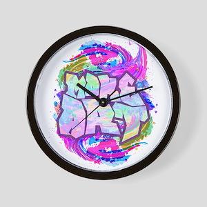 MAKE ART - FUN ART IDEA Wall Clock
