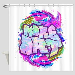 MAKE ART - FUN ART IDEA Shower Curtain