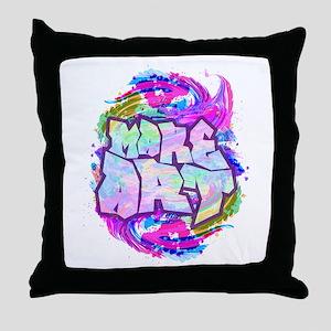 MAKE ART - FUN ART IDEA Throw Pillow