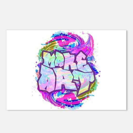 MAKE ART - FUN ART IDEA Postcards (Package of 8)