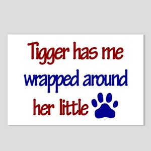 Tigger - Wrapped Around Her L Postcards (Package o