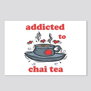 Addicted To Chai Tea Postcards (Package of 8)