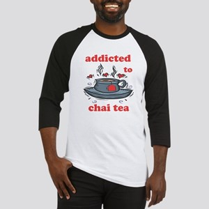 Addicted To Chai Tea Baseball Jersey